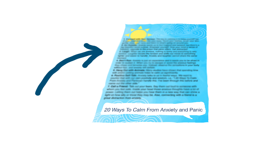 20 ways to calm from anxiety