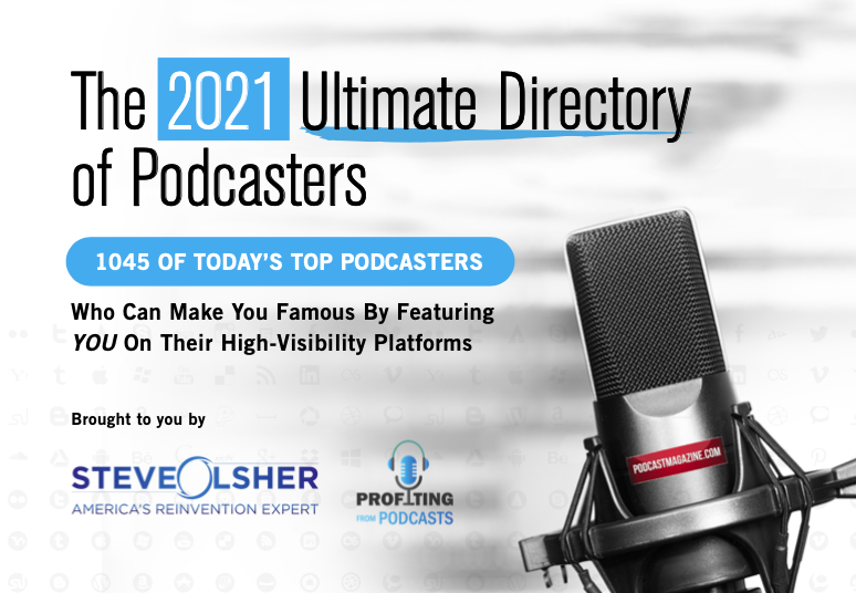The 2021 Ultimate Directory of Podcasters