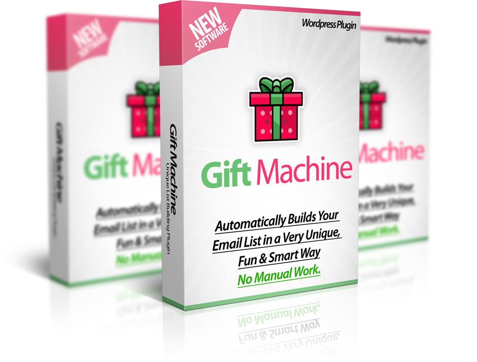 Gift Machine Plugin + Pro OTO-EarlyBird Access
