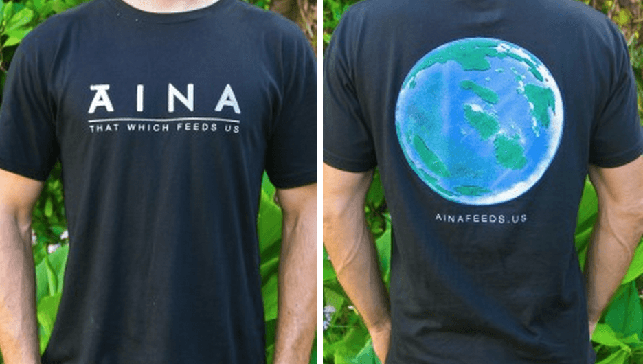 AINA T-shirts now available