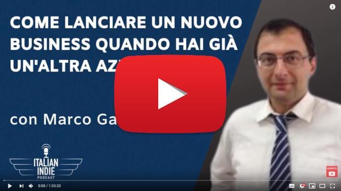 Guarda la Video Intervista di Marco Gatti per Italian Indie