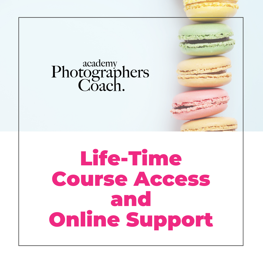 Life-Time Course Access and Online Support