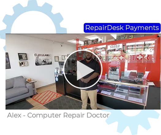 Alex From Computer Repair Doctor on RepairDesk Pay