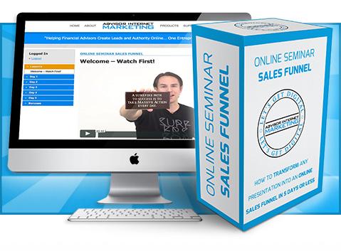 Online Seminar Sales Funnel