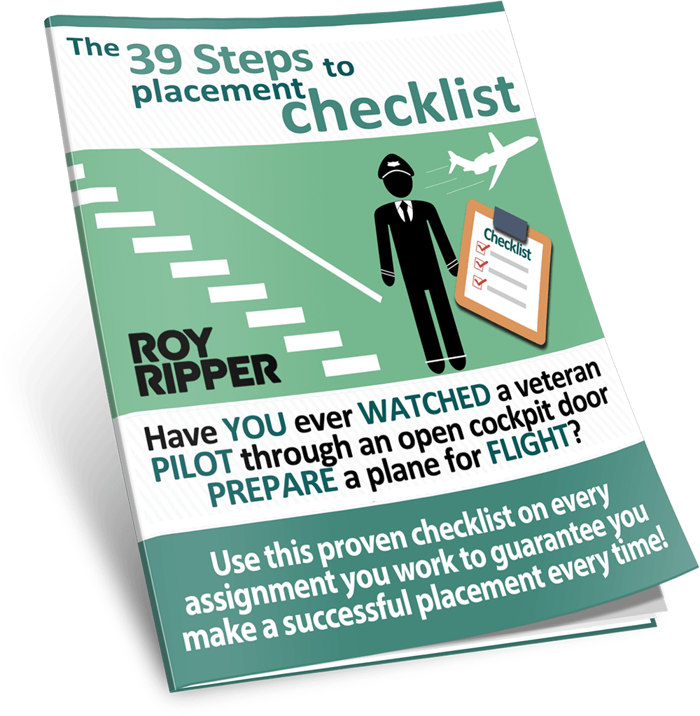 39 Steps to Placement Checklist
