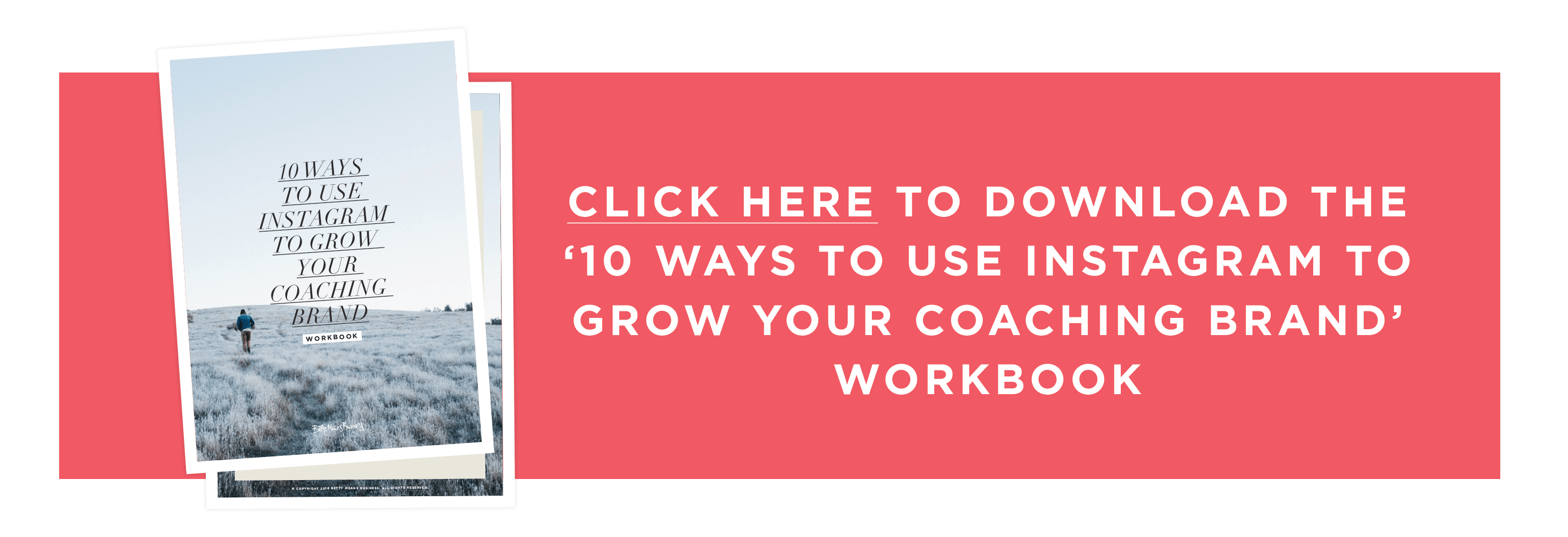 Grab your free Instagram Strategy for coaches, creatives and entrepreneurs looking to grow their business!