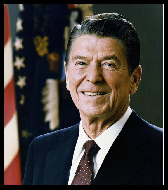 Portrait of President Ronald Reagan