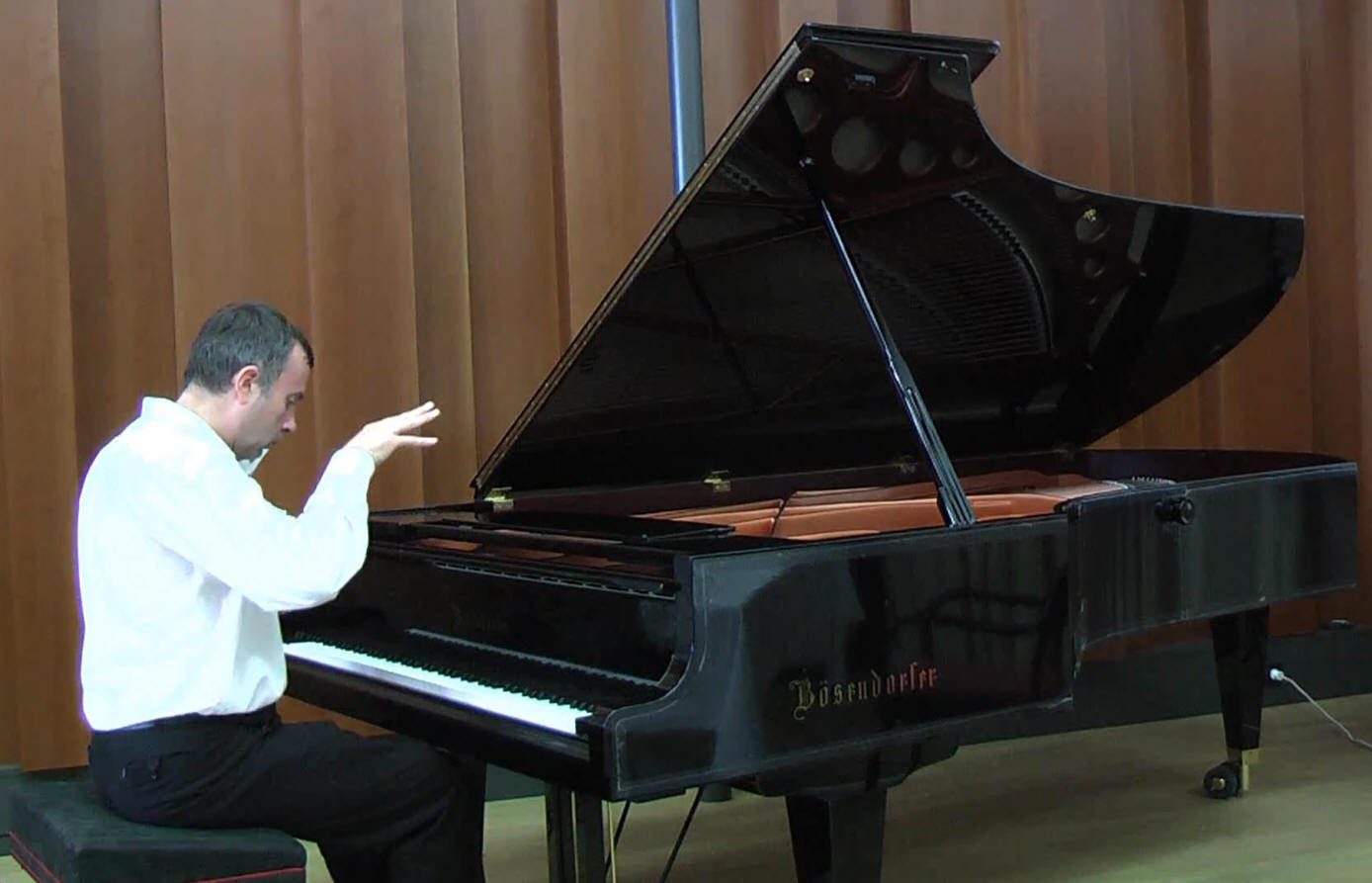 Wolfgang Ellenberger @ Bsendorfer Imperial concert grand piano