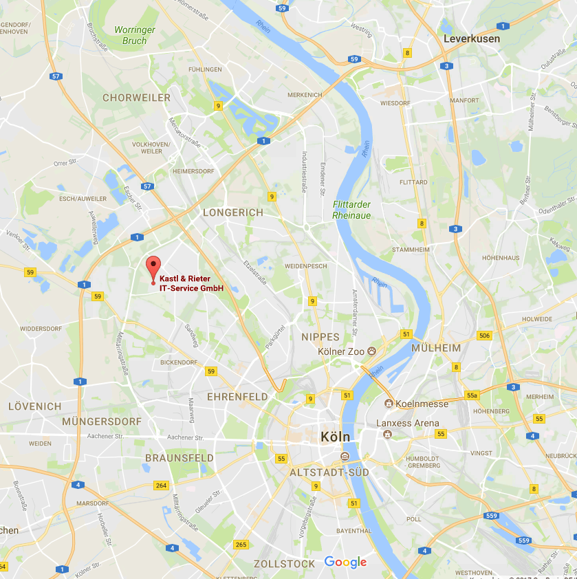 IT Service Köln Anfahrt