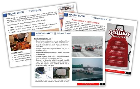 holiday safety meeting topics