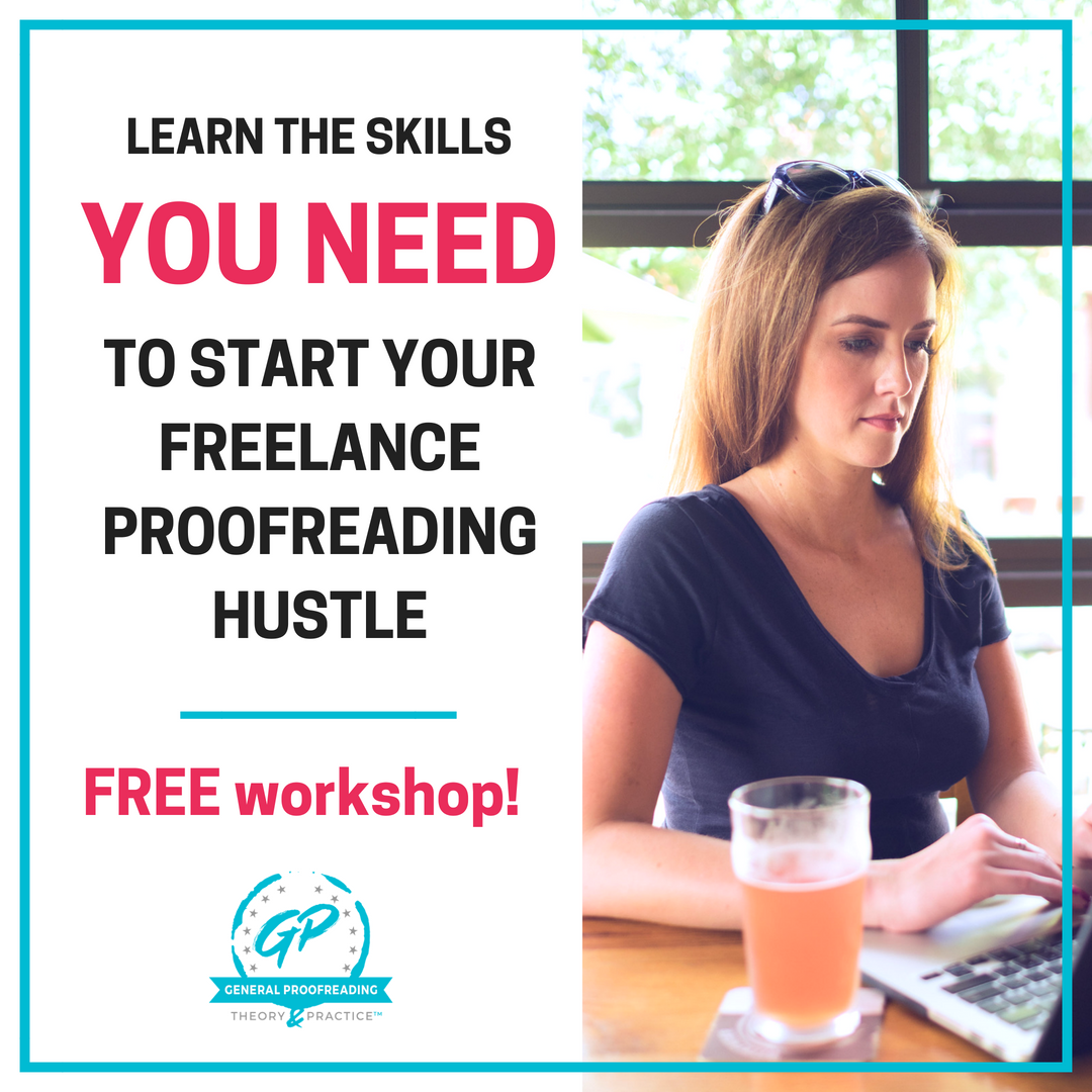 Learn the skills you need to become a proofreader