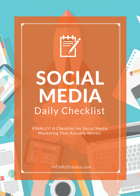 Social Media Checklist