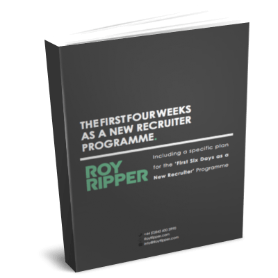 Three Interview Superstar Selection Sequence - How to hire recruiters by Roy Ripper