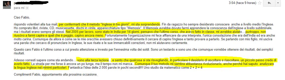 Fabio Maccagnan opinioni