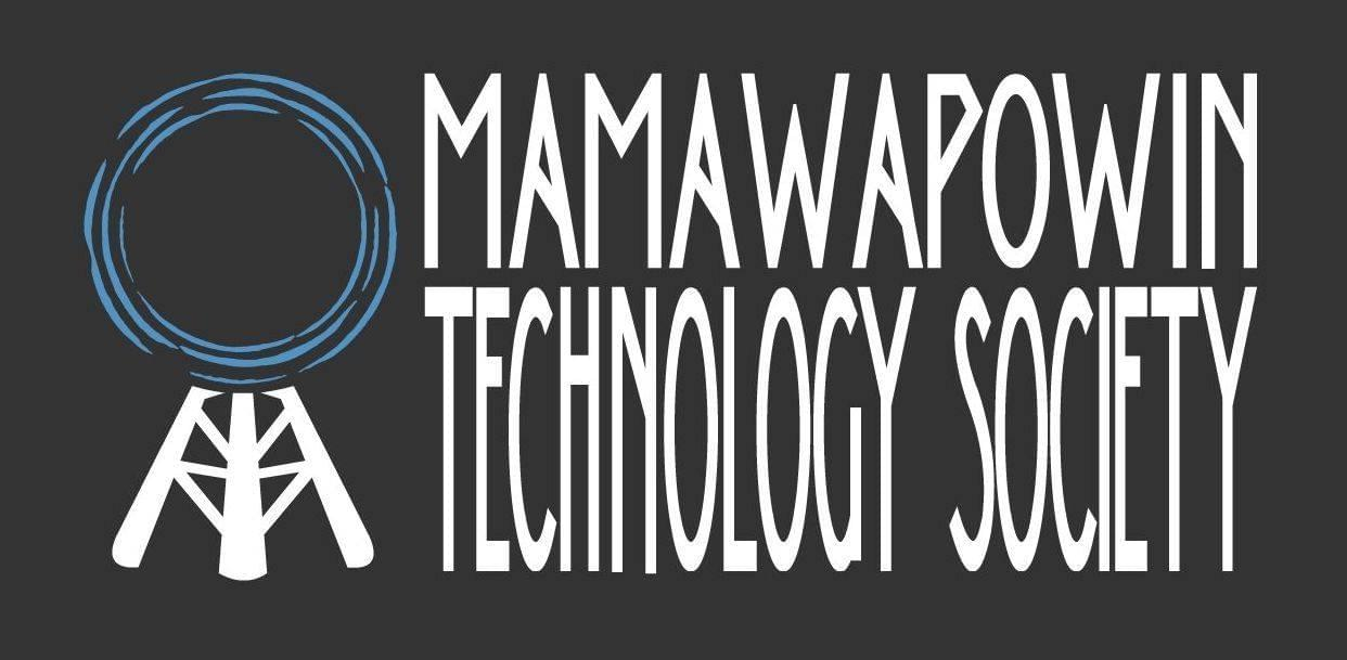 Mamawapowin Technology Society Logo