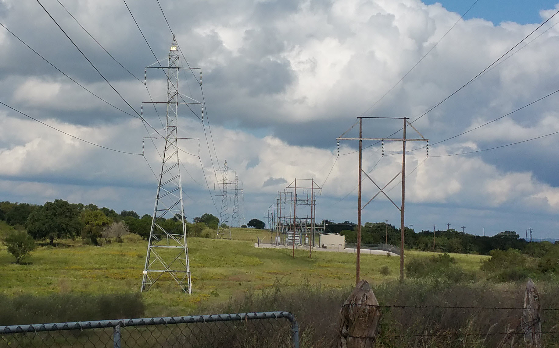 Transmission Lines in Texas
