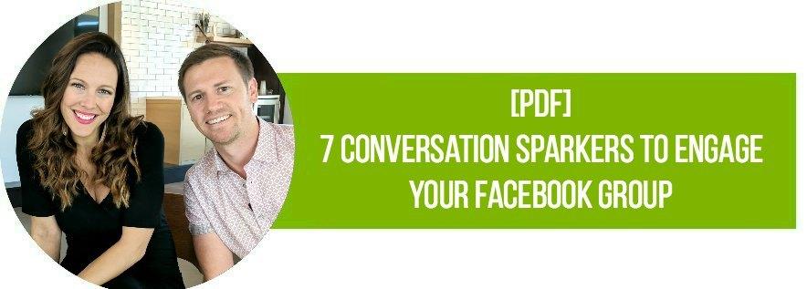 FB Group Conversation Sparkers