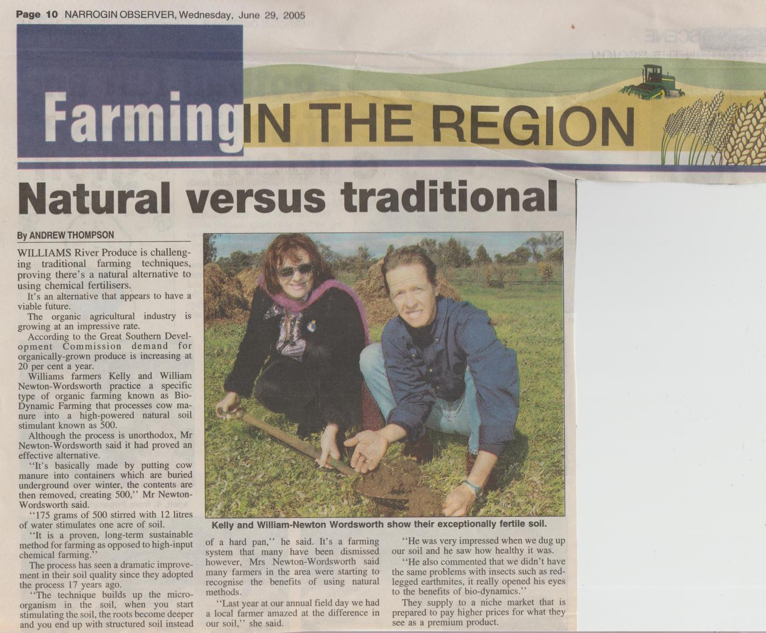 Narrogin Observer 29th June 2005