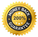 Protected by our Double Your Money Back Guarantee