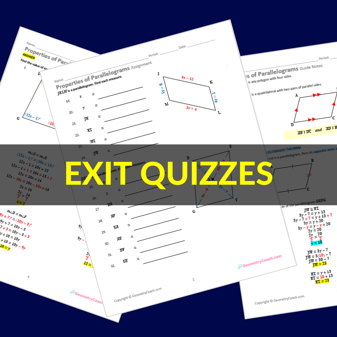 Algebra 2 Quiz