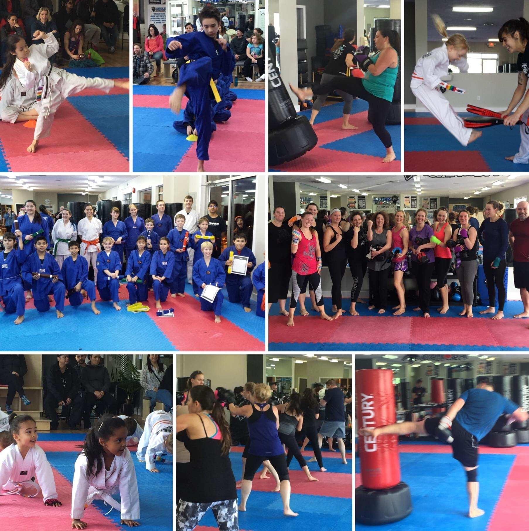Kids Martial Arts and Fitness Kickboxing
