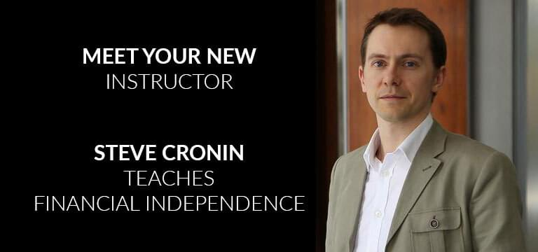 Steve Cronin expat financial independence vanguard ishares invest