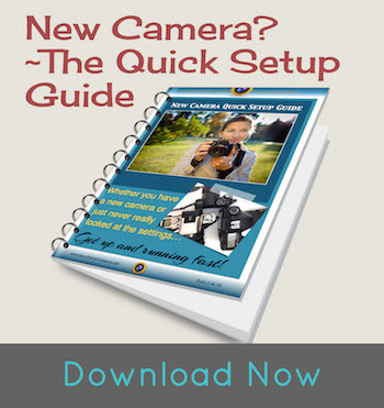DSLR camera setup guide