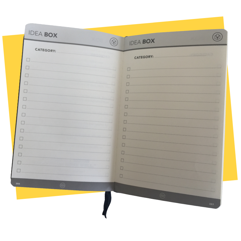 Effic Planner - Idea Box