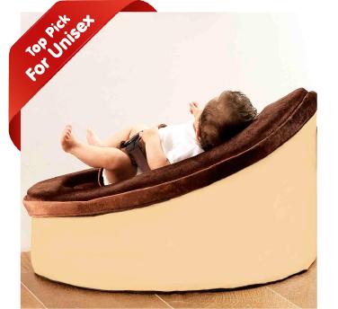 Sandstone Brown and Beige Snuggle Seat