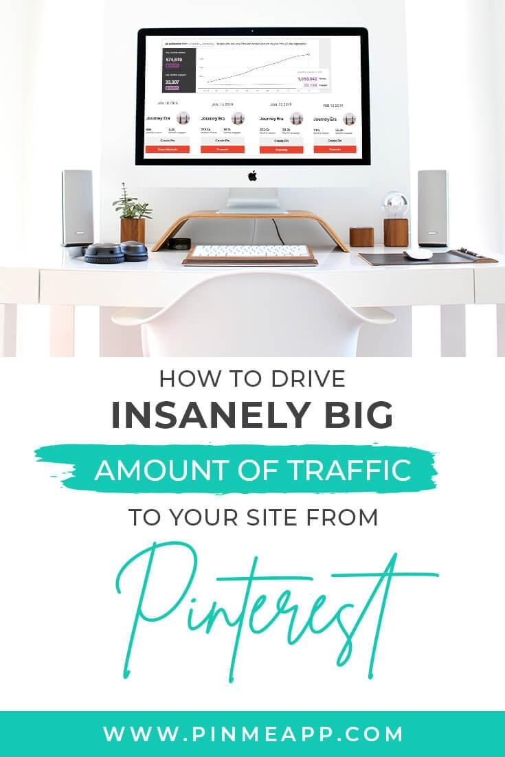 pinterest management, grow traffic to site from pinterest
