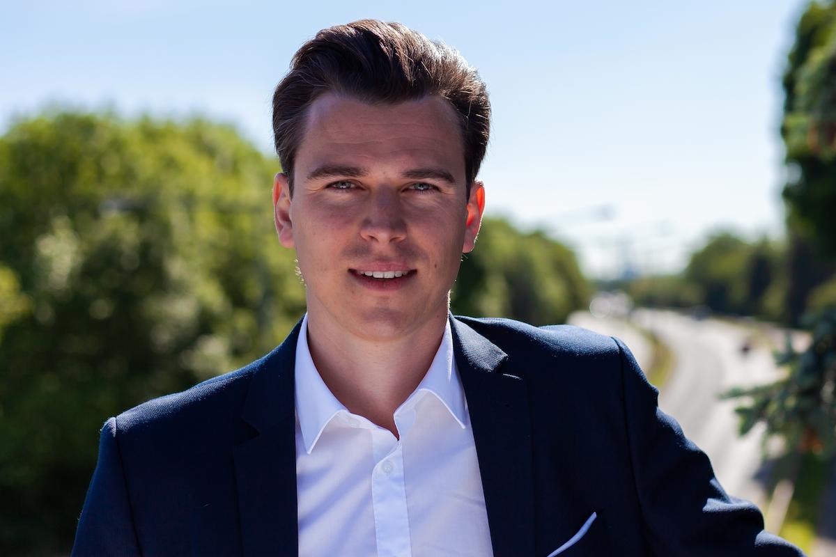 Unser Gründer und Geschäftsführer Marcus Tammer