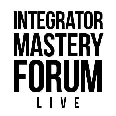 Integrator Mastery Forum - LIVE