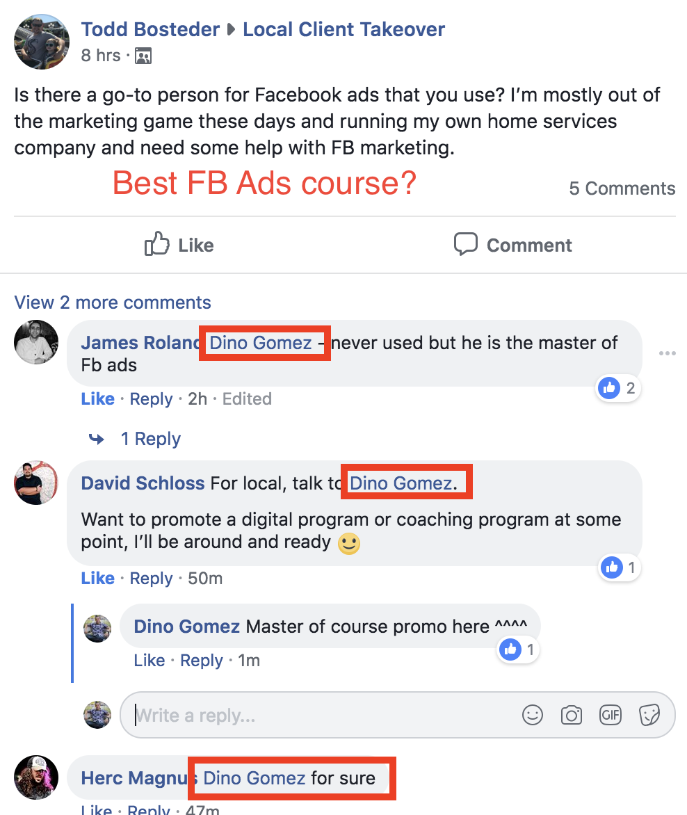 Best FB Ads course