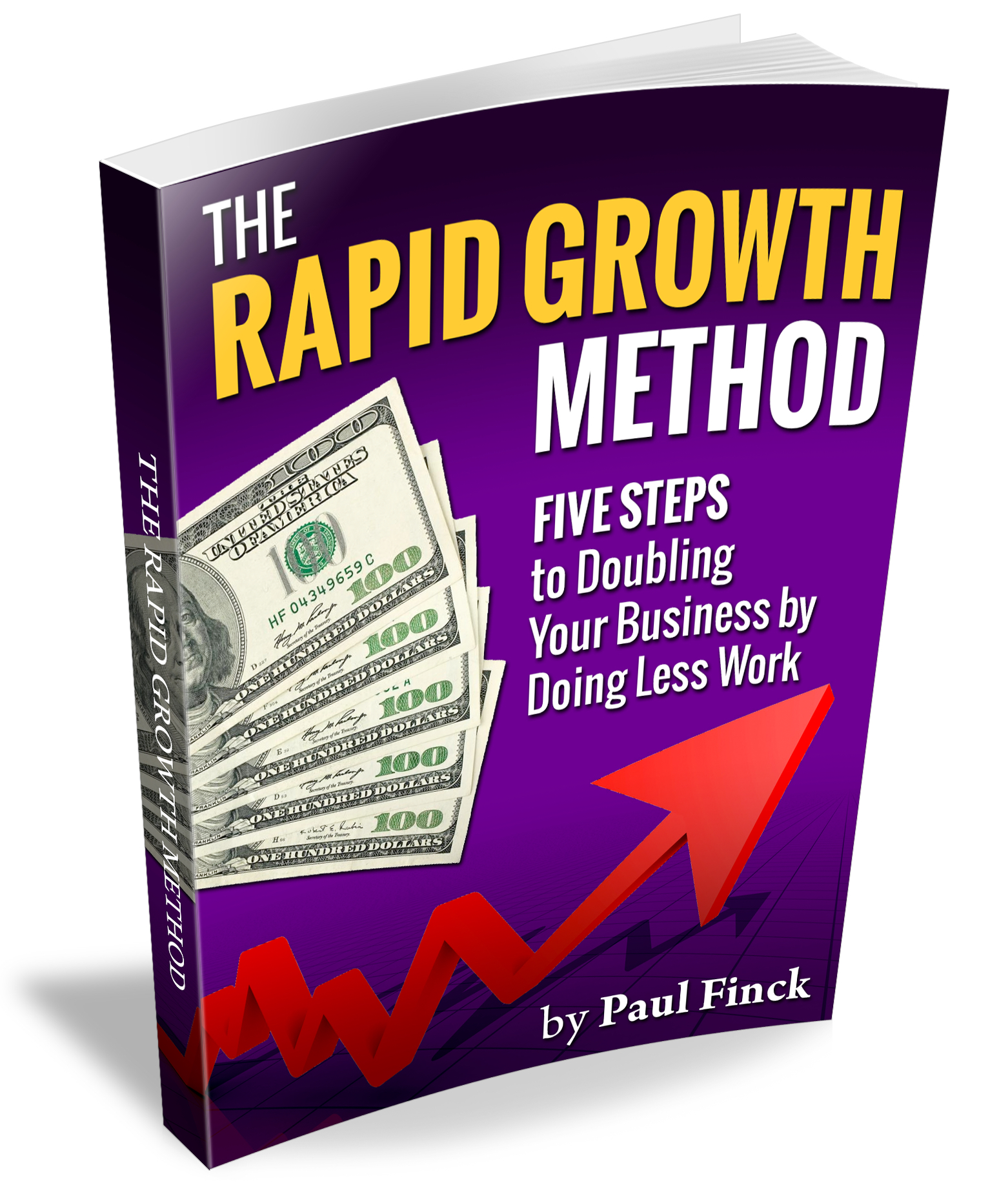 Paul Finck's Rapid Growth Method - Double Your Income In 5 Easy Steps