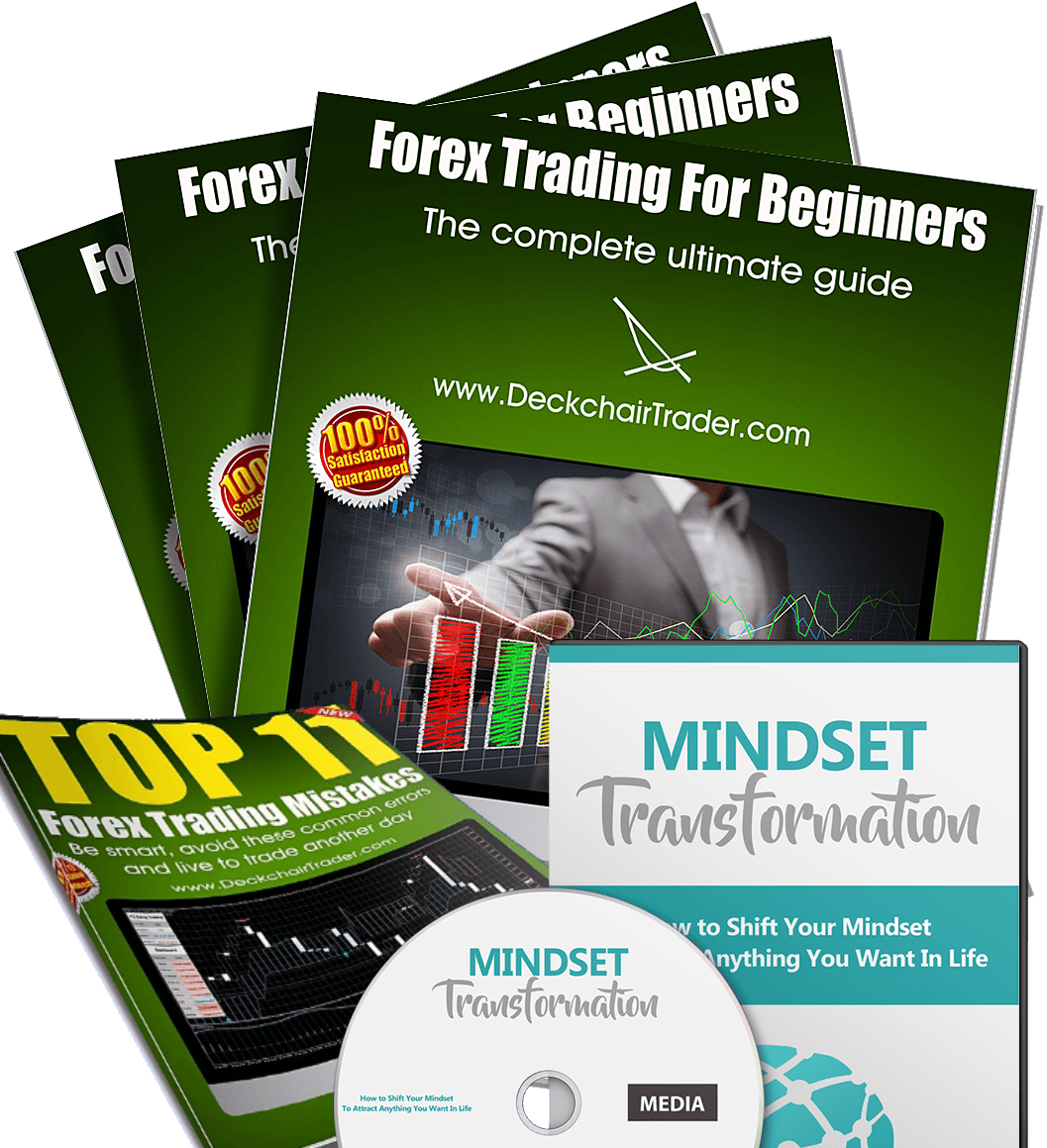 Forex Trading for Beginners (over 170 pages), Top 11 Trading Mistakes, Mindset Transformation