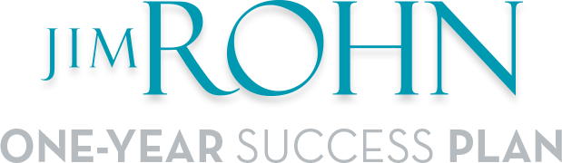 Jim Rohn ONE-YEAR SUCCESS PLAN