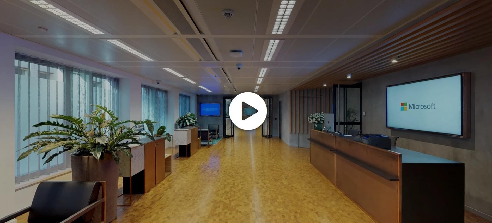 Centrul Microsoft Brussels tur virtual 3D
