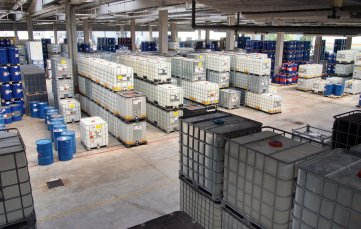 warehouse safety chemical