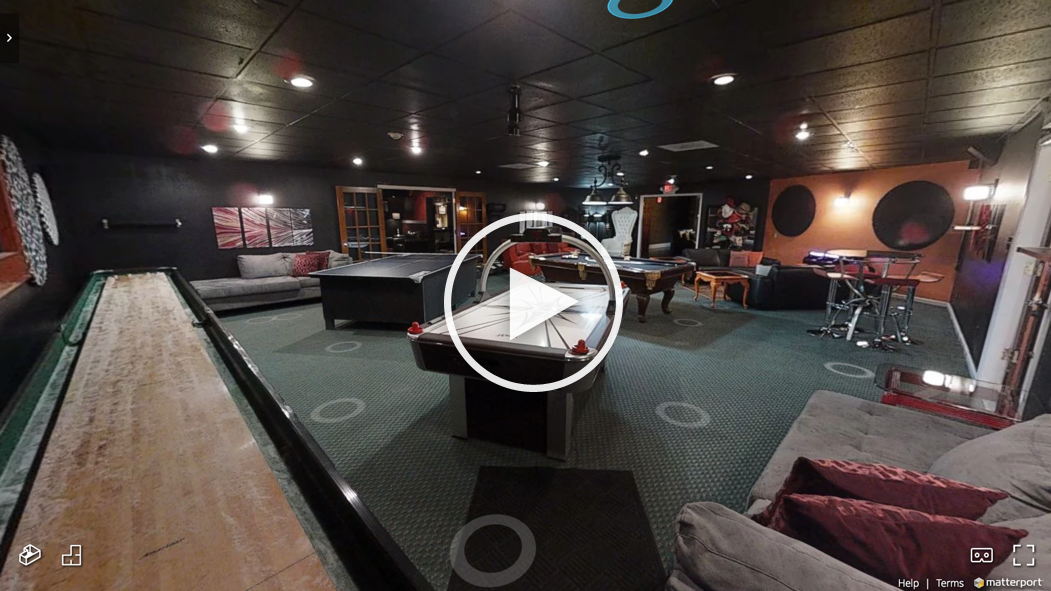 Game Room 3D Tour