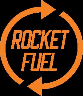 Rocket Fuel Logo Header Left