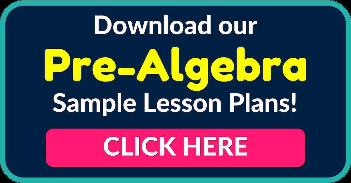 Pre-Algebra Worksheets