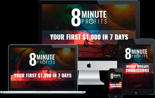 8 Minute Profits 2.0 review bonus 1