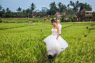Nicole and Dean's Bali Wedding