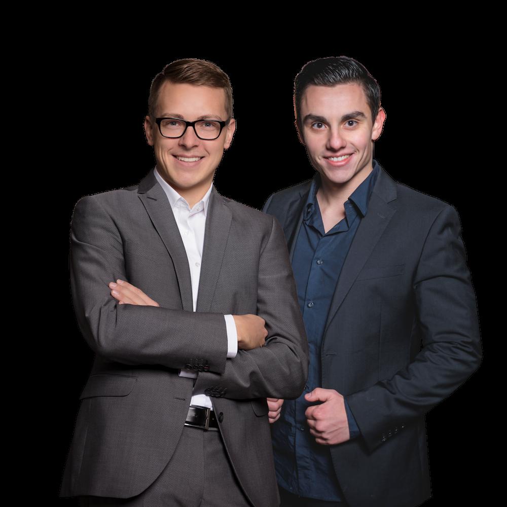Florian Günther und Hans Schneider