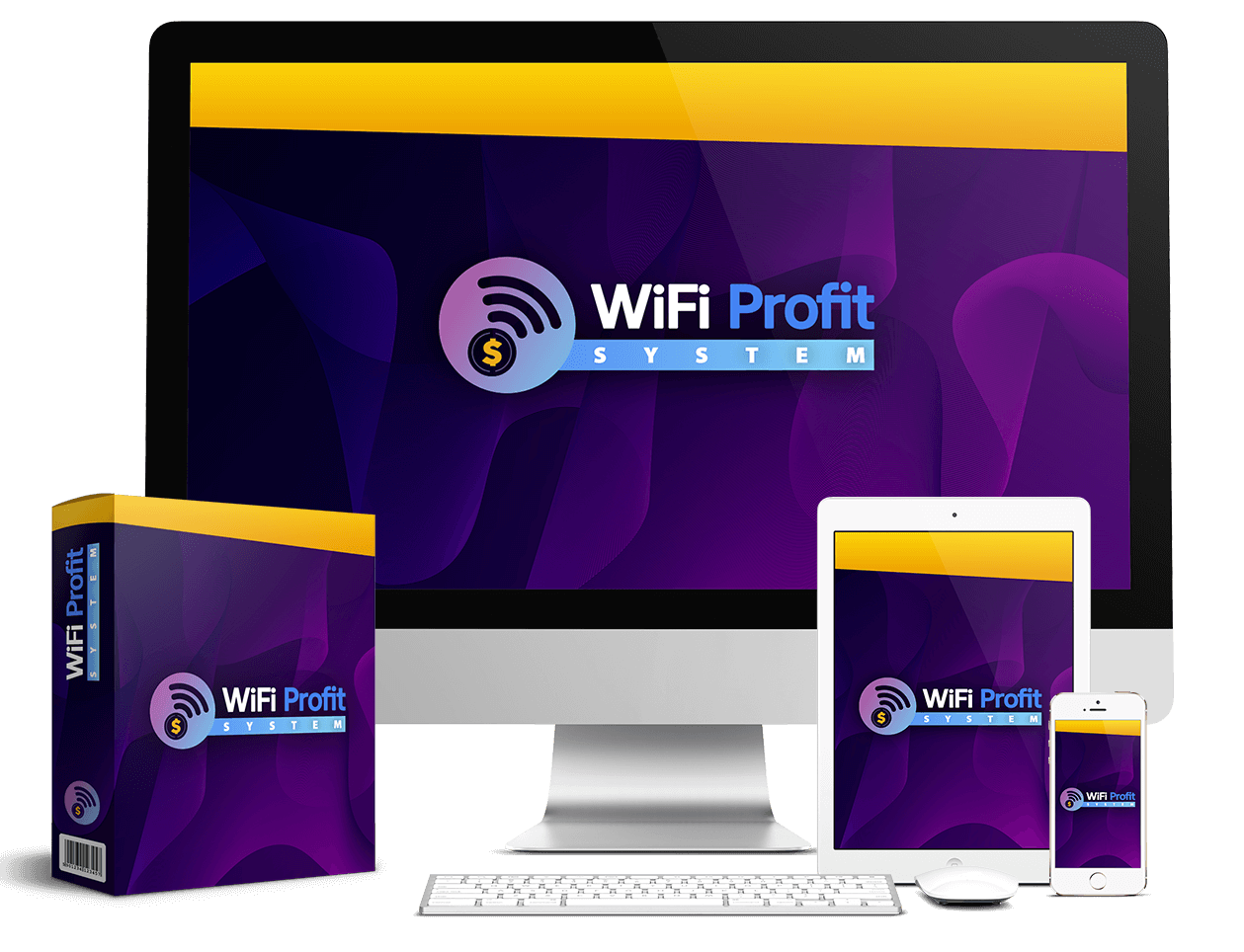 "WiFi Profit System Review – World's 1st ""4-In-1 Auto Sales"" App"