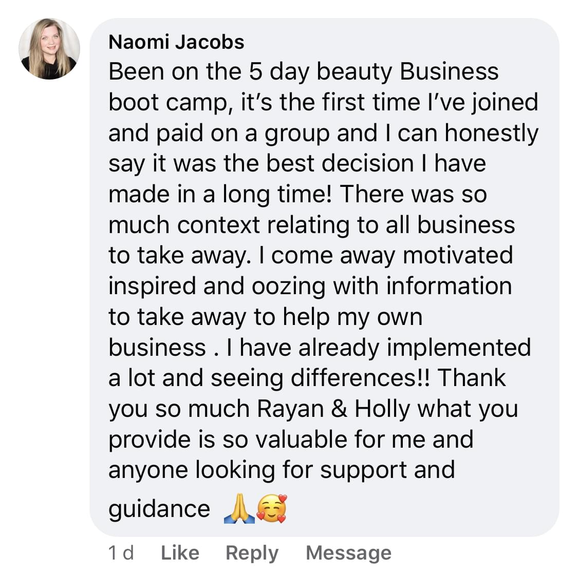 Bootcamp review 23