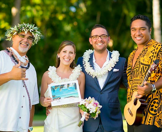 Hawaii destination wedding organizer