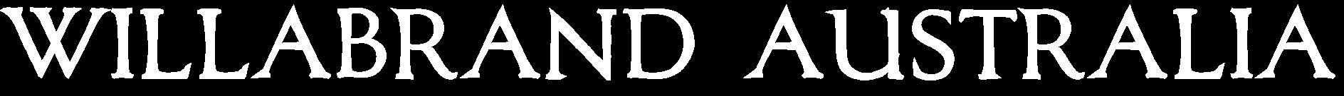 Willabrand Australia Wordmark