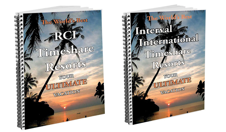 world's best resorts, rci, interval international, ii, timeshare exchange bible