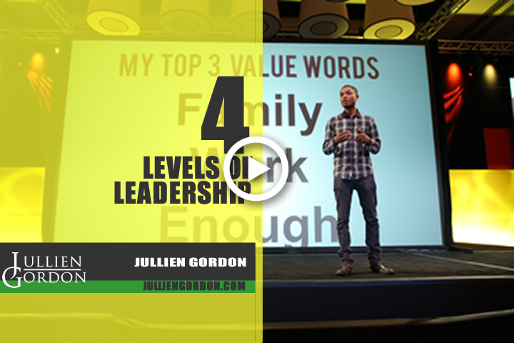 The 4 Levels Of Leadership